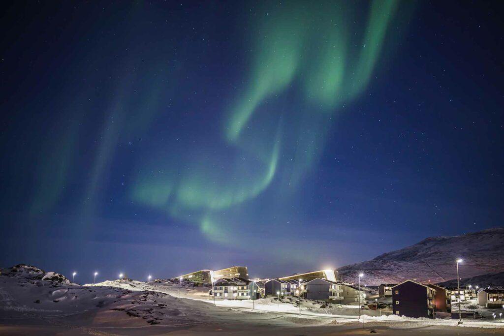 Aurores boréales - Croisière Groenland