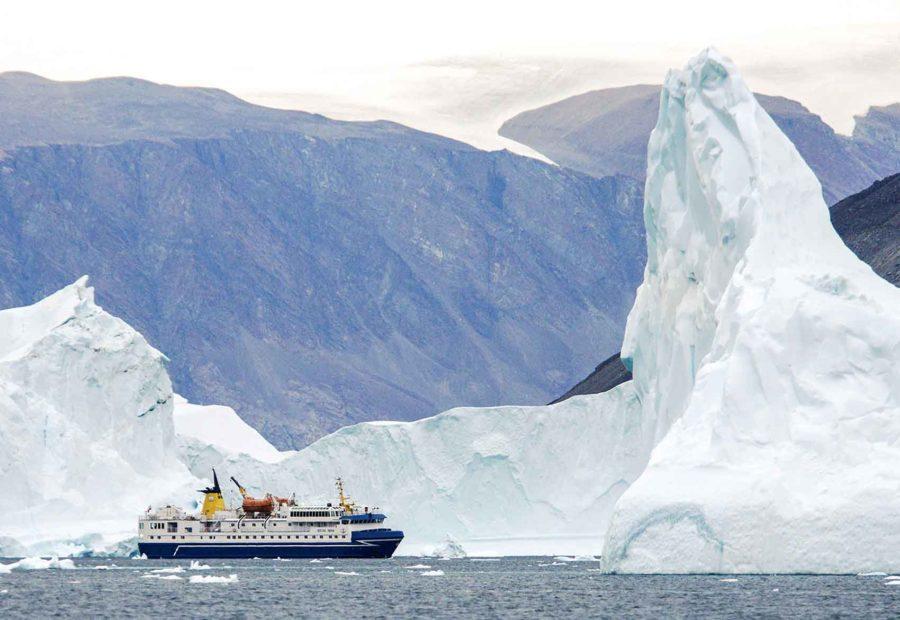Navire Polaire Ocean Nova Croisiere Polaire Arctique Grands Espaces