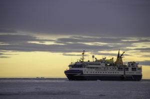 Navire polaire l'Ocean Nova