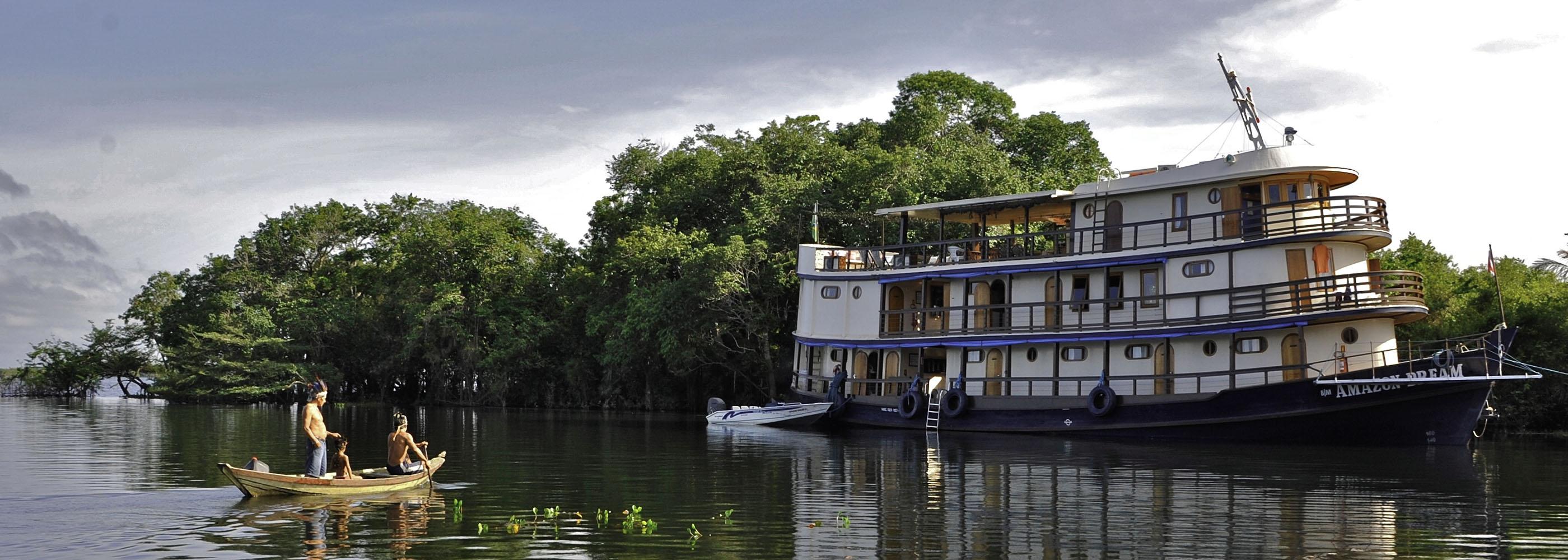 Croisière fleuve Amazone