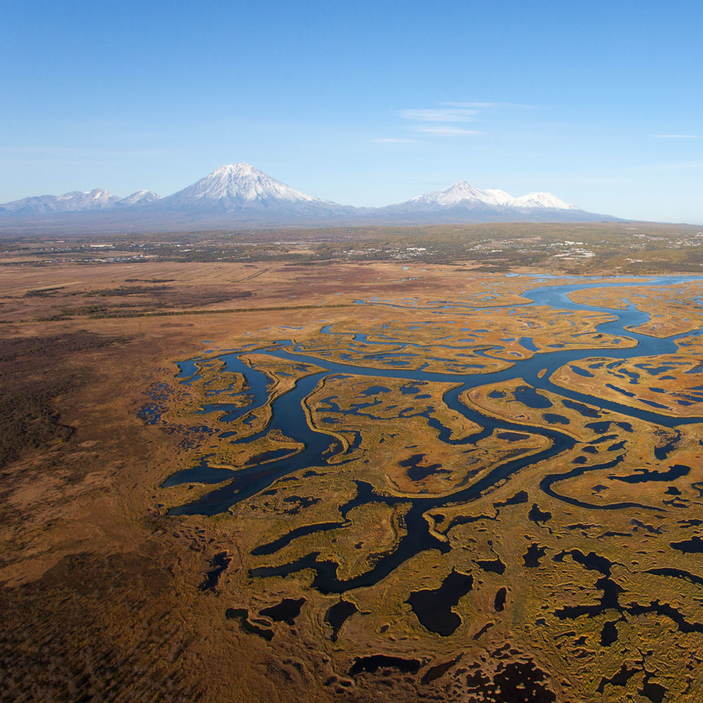 Circuit Kamchatka baie Avacha