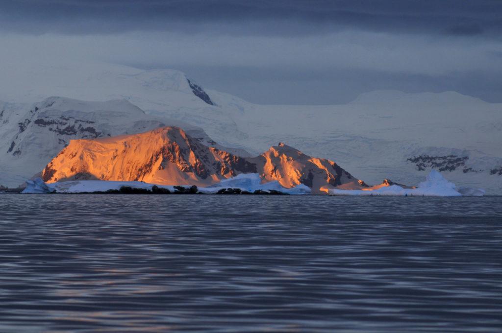 Croisiere Antarctique Coucher de Soleil