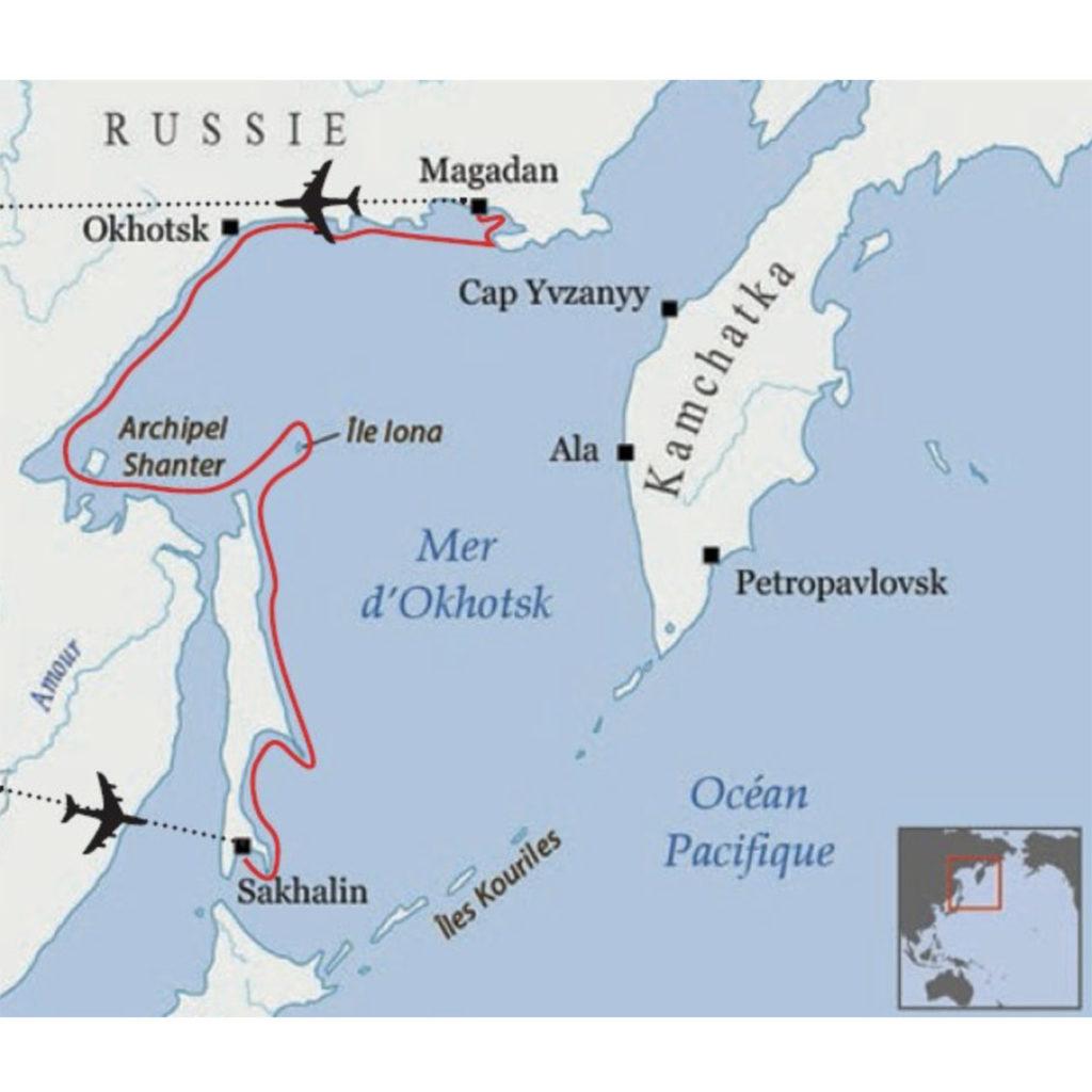 Voyage d'Okhotsk