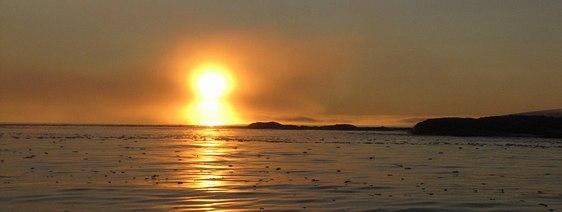 Soleil - Spitzberg - Arctique