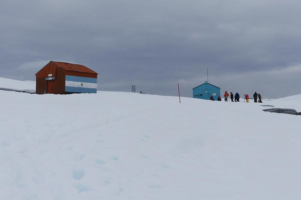 Cabane Damoy Antarctique