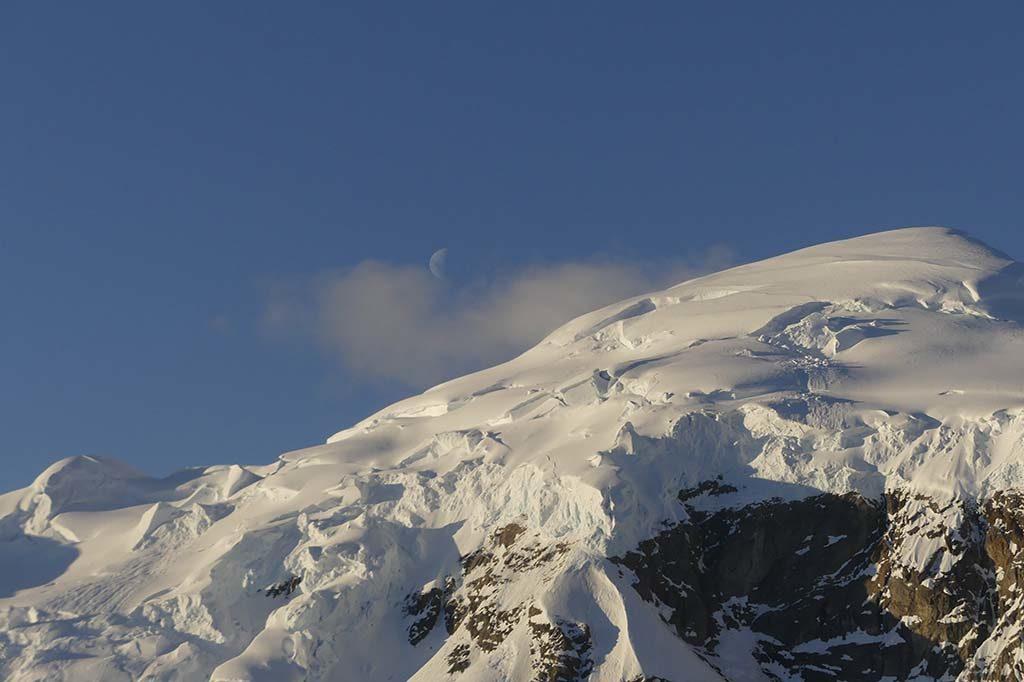 Hauts sommets glaciers Antarctique