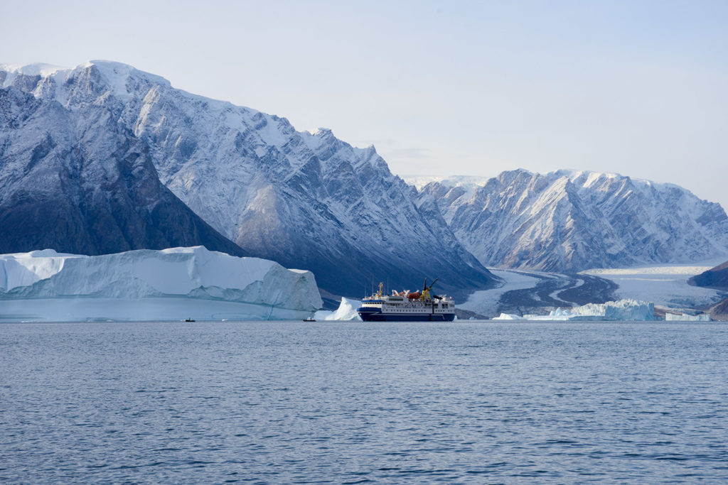 Croisiere polaire Groenland A bord de l'Ocean Nova