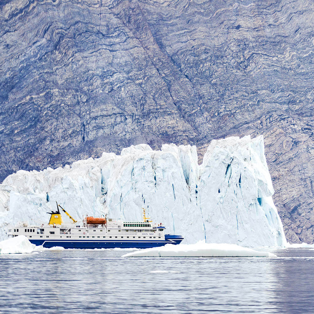 Ocean Nova Icebergs Groenland