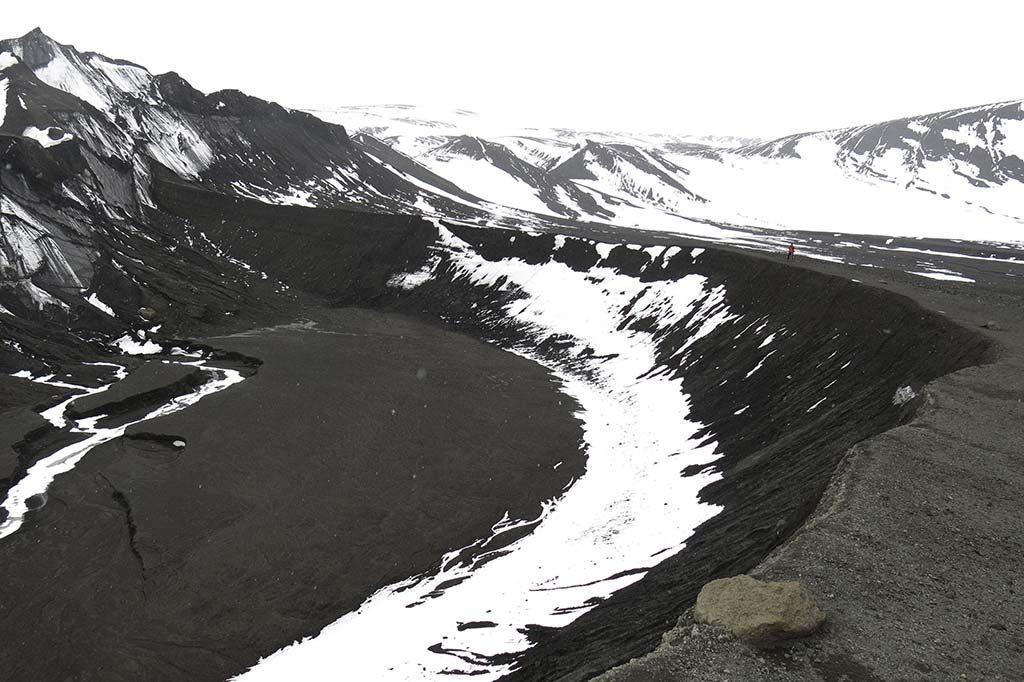 Randonnée Téléphone BAY Antarctique