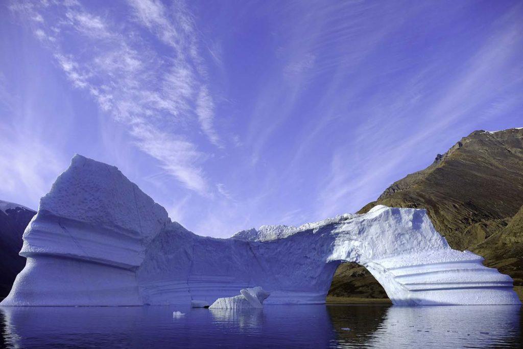 Iceberg Groenland Voyage