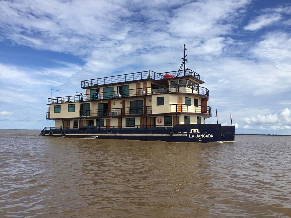 Navire La Jangada Croisière Amazonie