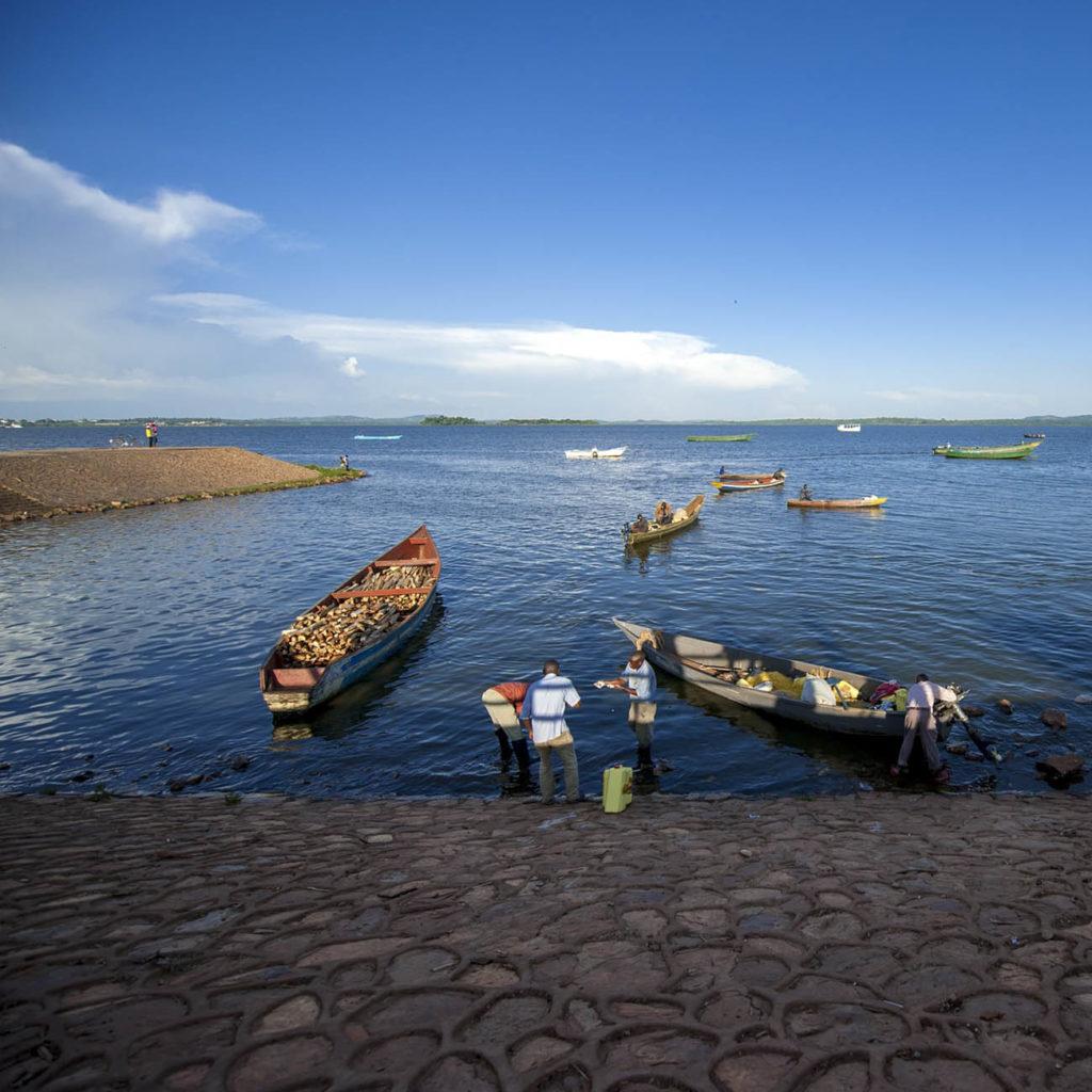 Lac Victoria - Voyage Ouganda