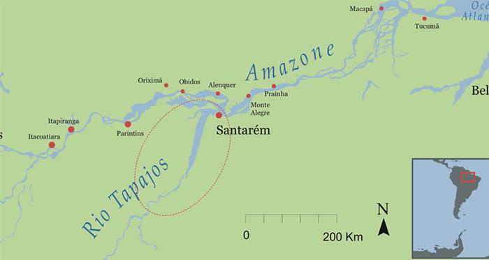 Les Caraïbes de l'Amazonie brésilienne