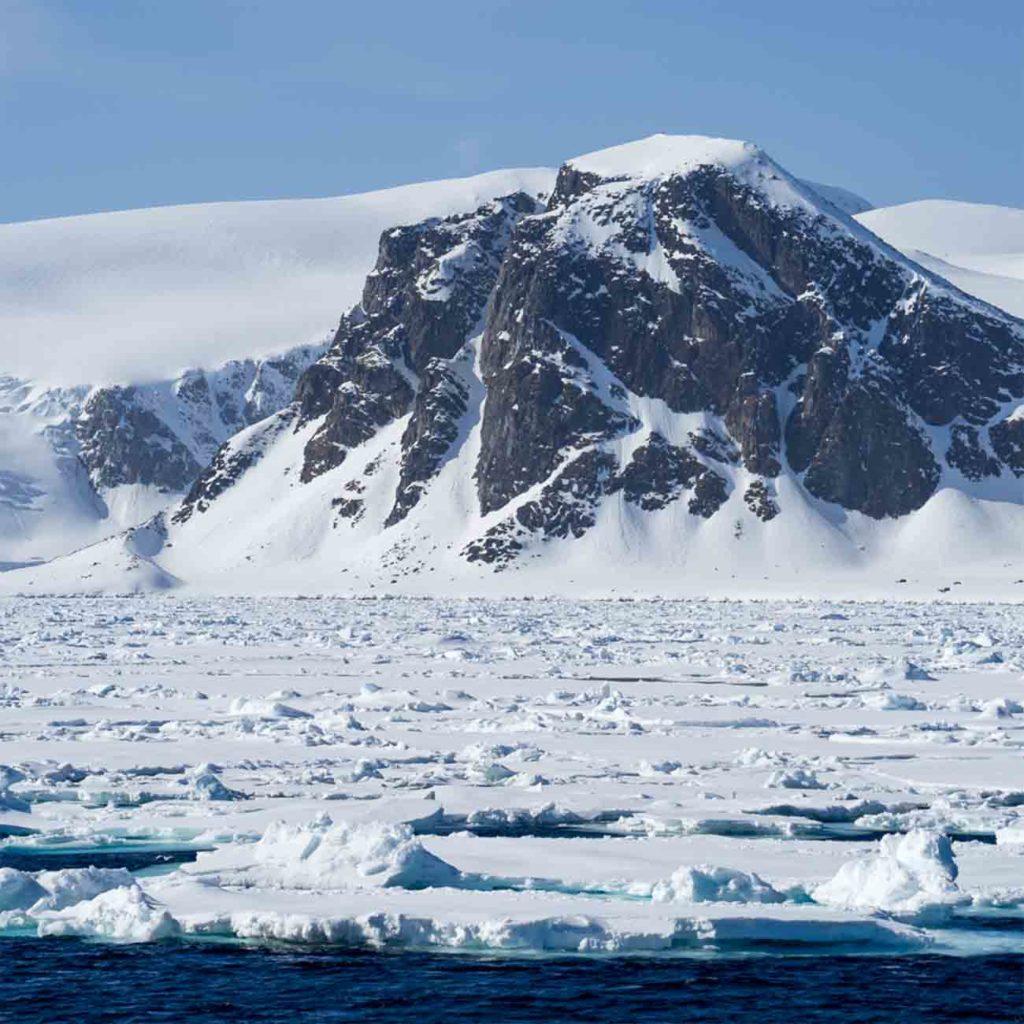 Croisère Polaire Svalbard Banquise Smeerenburg