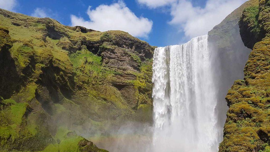 Tour d'Islande Skogafoss 02