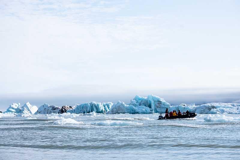 Negribreen Iceberg - Croisière Spitzberg