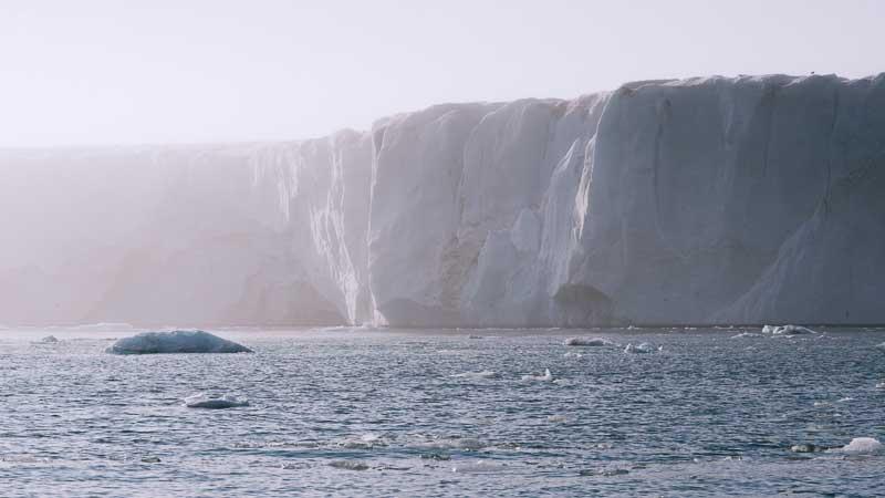 Observation glacier de Negribreen