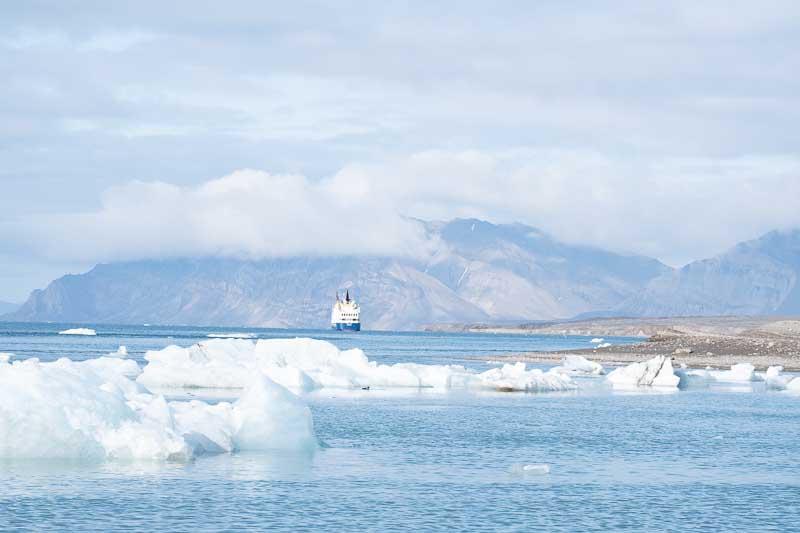 Observation glacier Recherchebreen