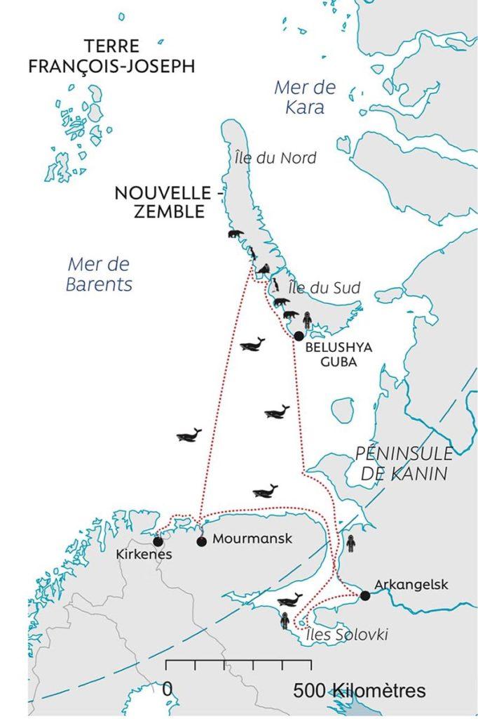 Mer Blanche et Nouvelle Zemble