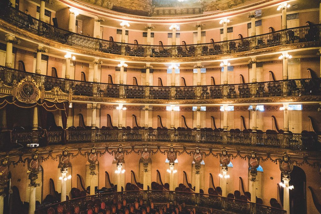 Découverte du Théâtre de Manaus en Amazonie