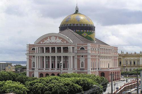 Découverte de l'opéra de Manaus - Amazonie