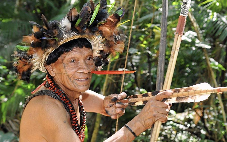 Découverte du peuple Amazonien lors de notre croisière