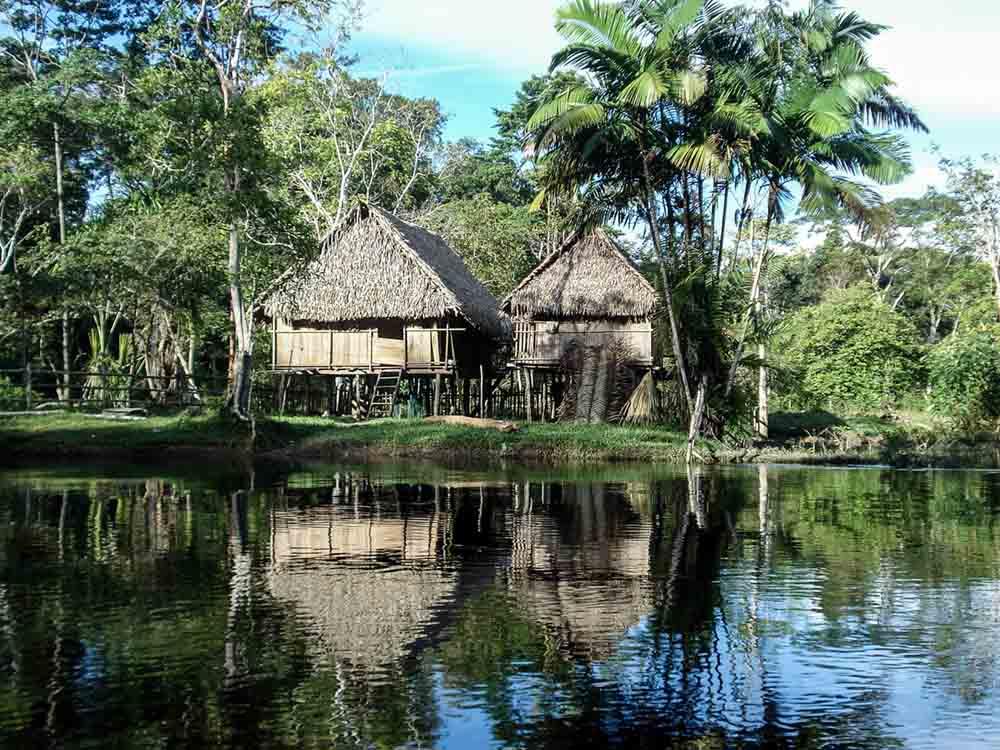 Village Caboclos amazonie