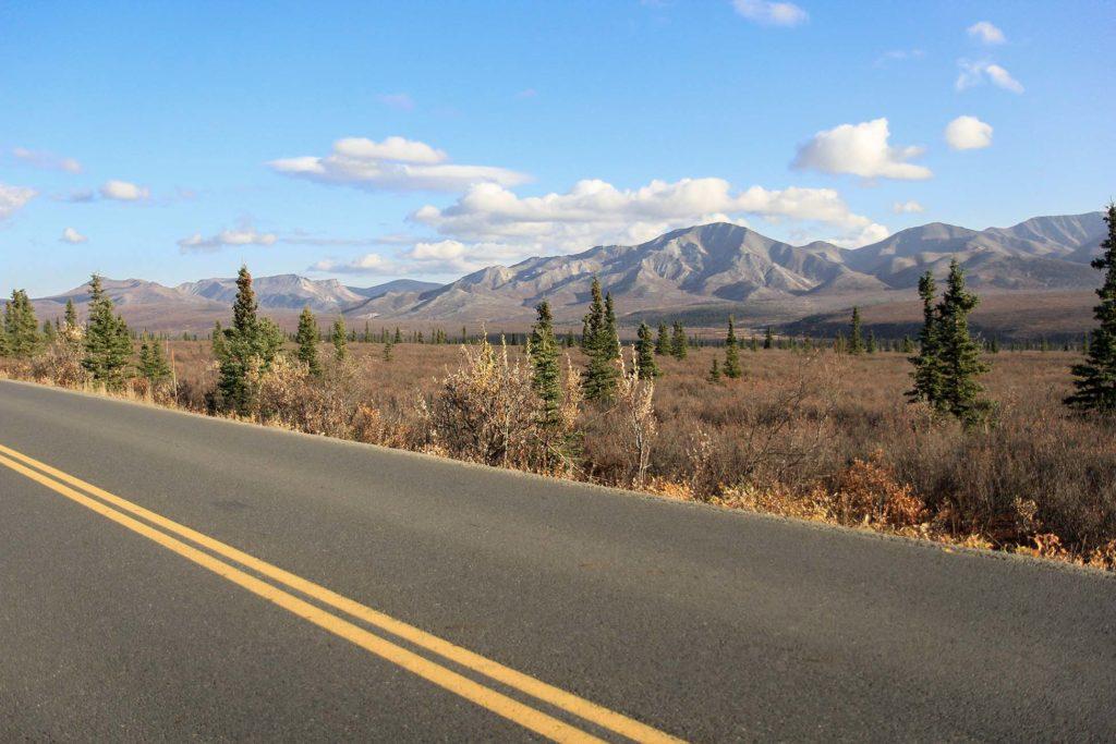 Extension à Dalton Highway lors du circuit en Alaska