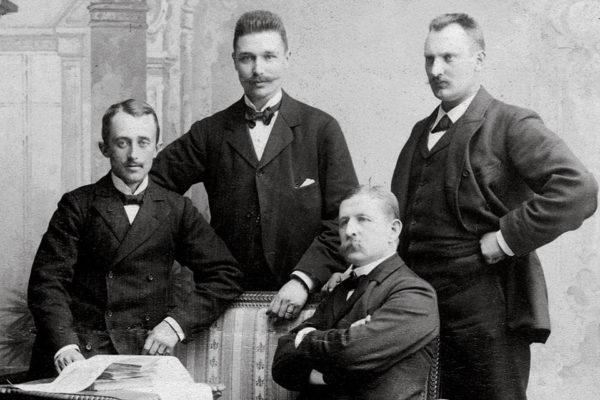 Salomon Andree et ses collaborateurs