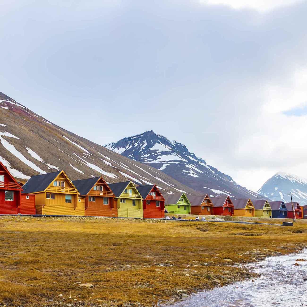 Visite de Longyearbyen Svalbard