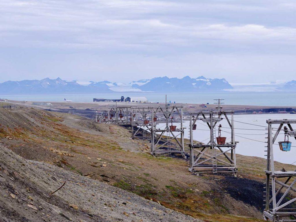 Longyearybyen ville minière