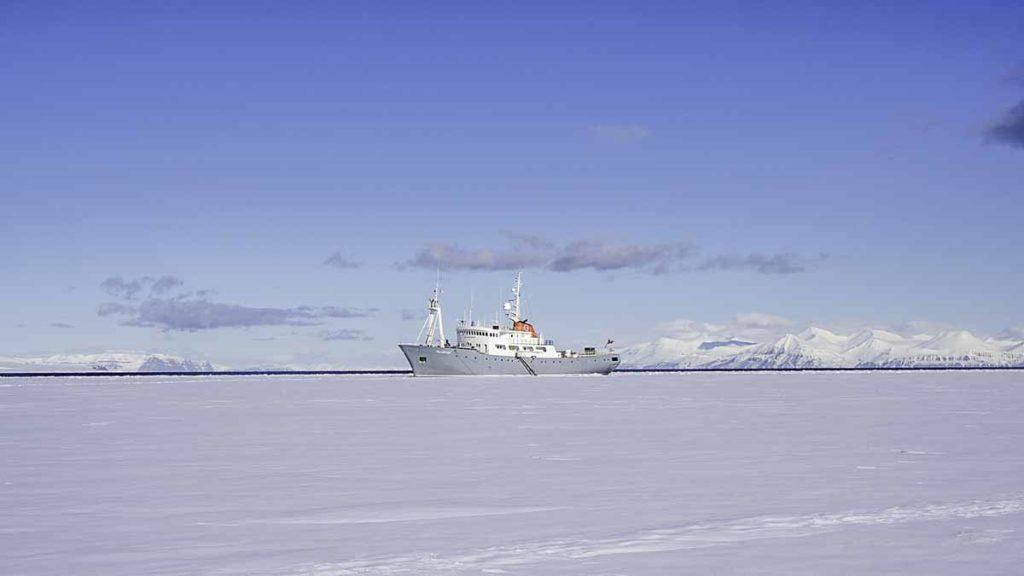 Polarfront Banquise Spitzberg