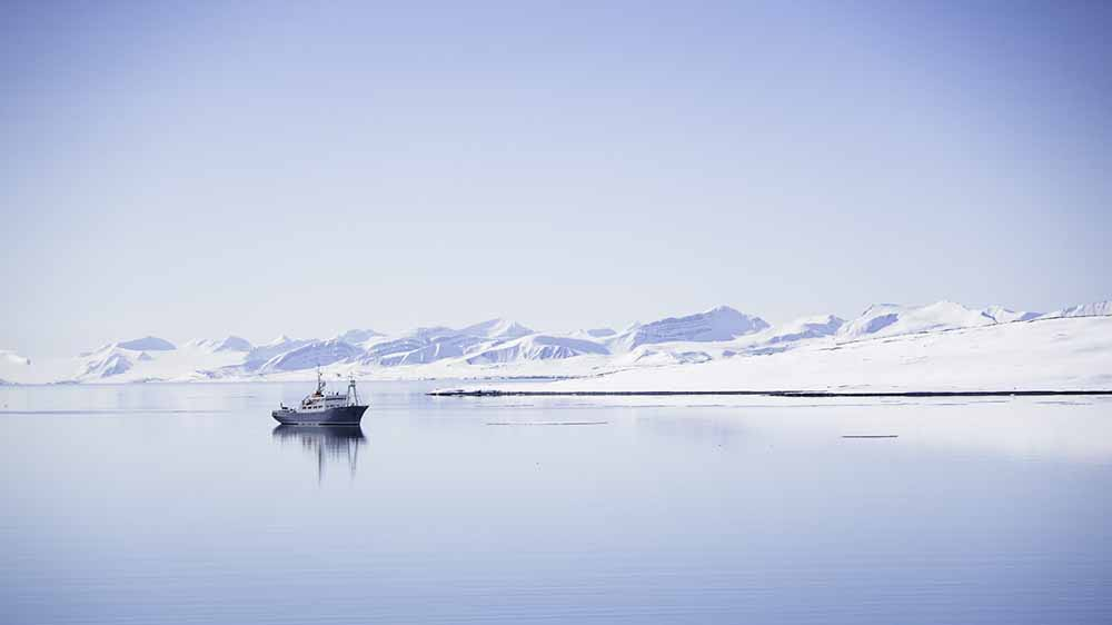 Polarfront Spitzberg