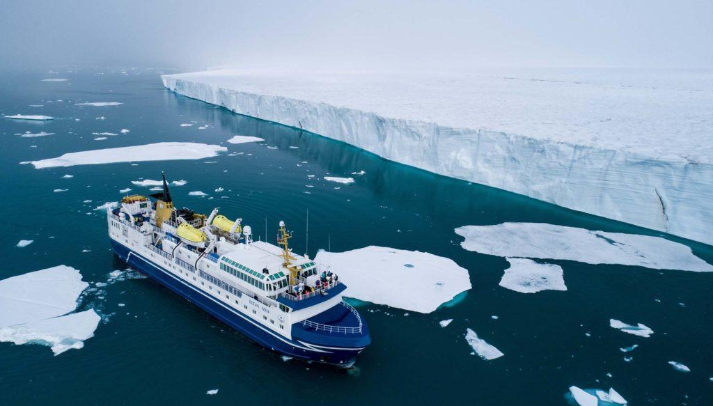 Ocean Nova Brasvelbreen Spitzberg - Svalbard Grands Espaces