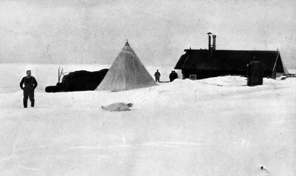 Framheim camp Amundsen