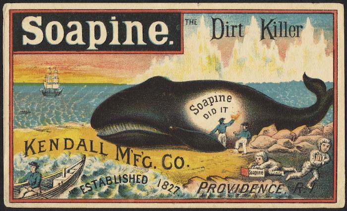 Savon Baleine