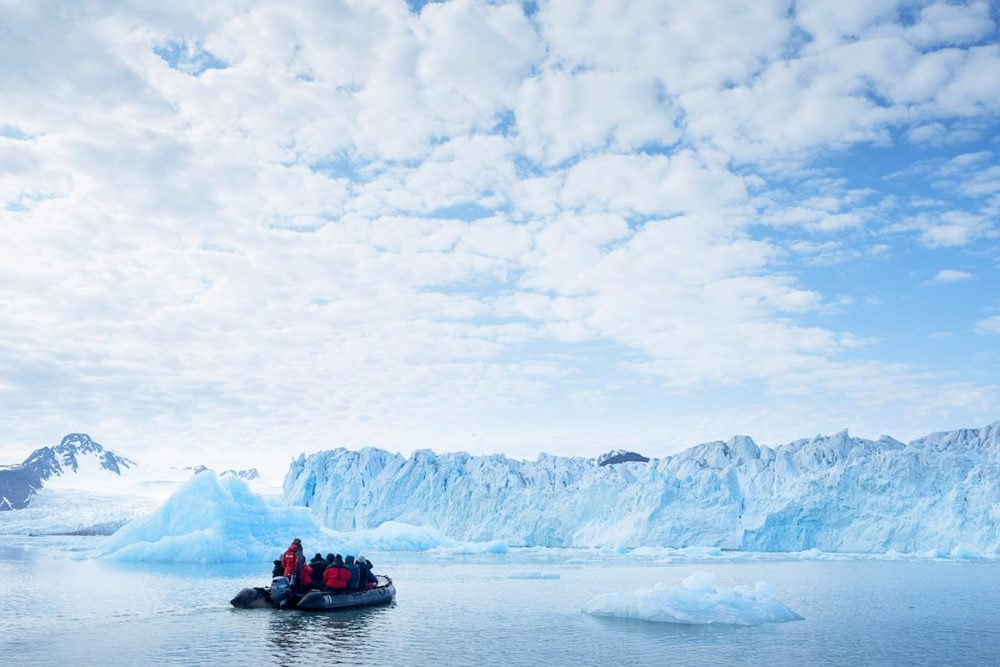 glacier de liliehook - Spitzberg
