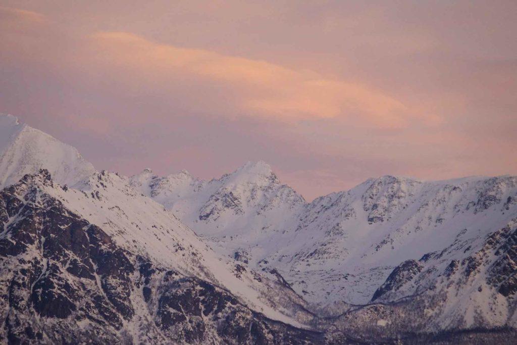 Alpes de Lyngen - Croisière Laponie