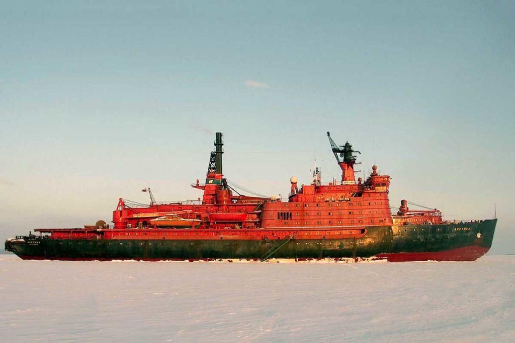 Découverte du brise-glace Artika II