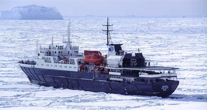 Exploration du brise-glace