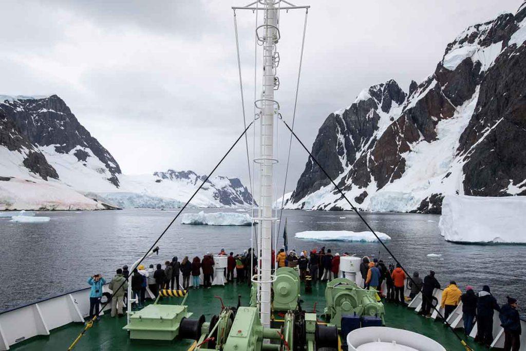 Chenal Lemaire - Croisière Antarctique