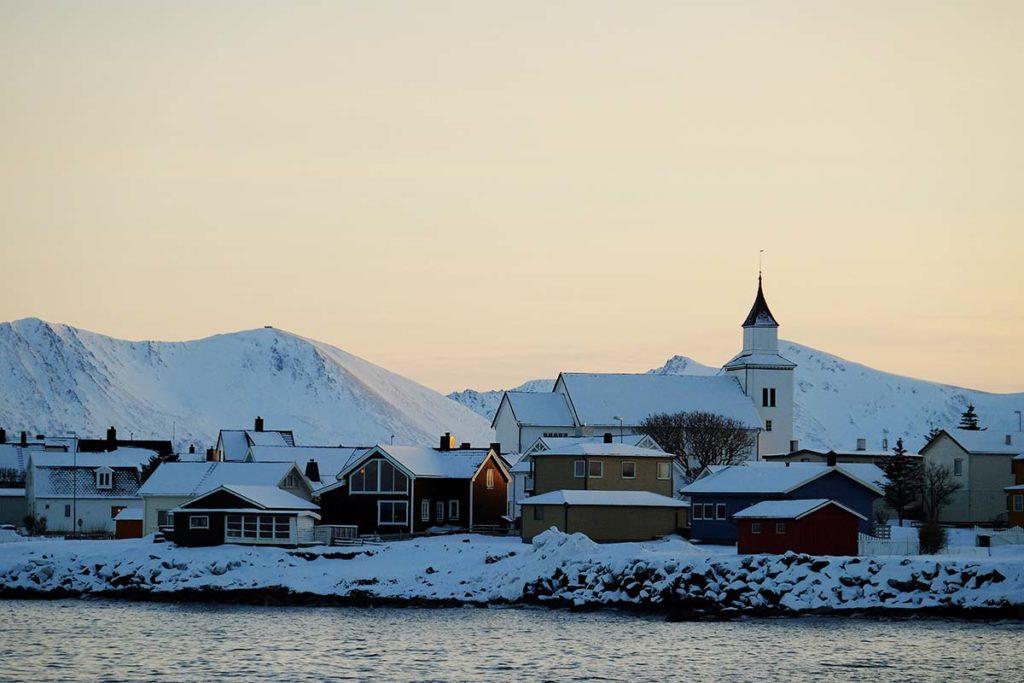 Coucher de soleil - Croisière Laponie