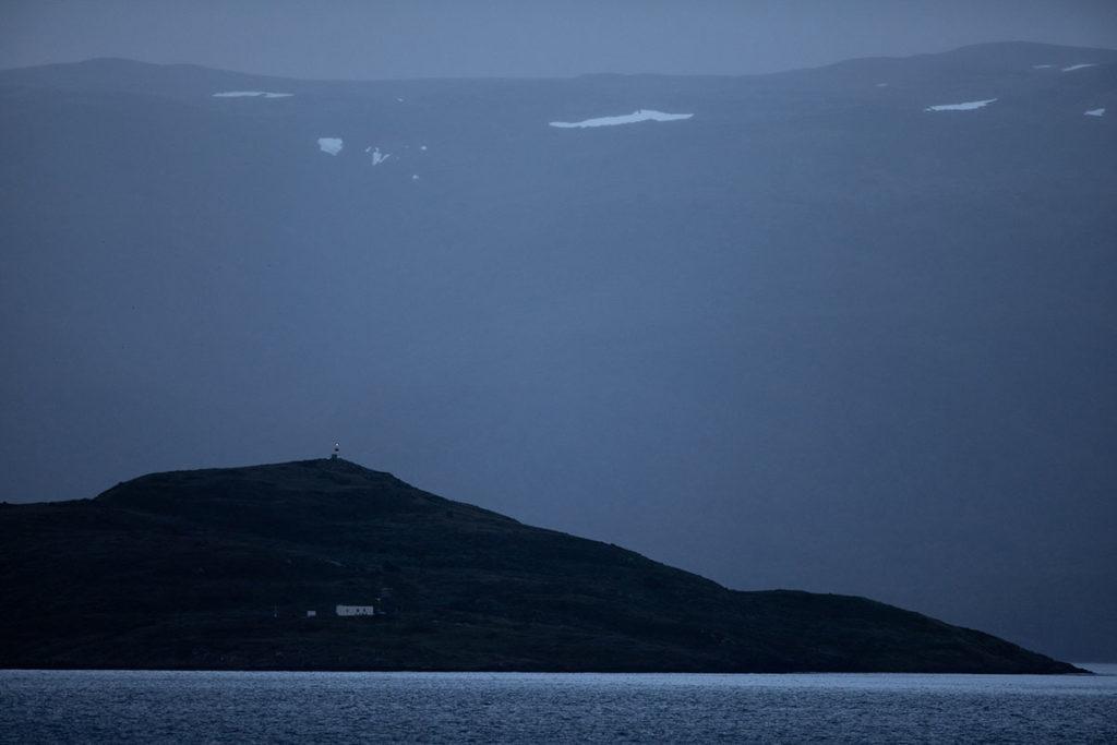 Paysage de nuit - Croisière Antarctique