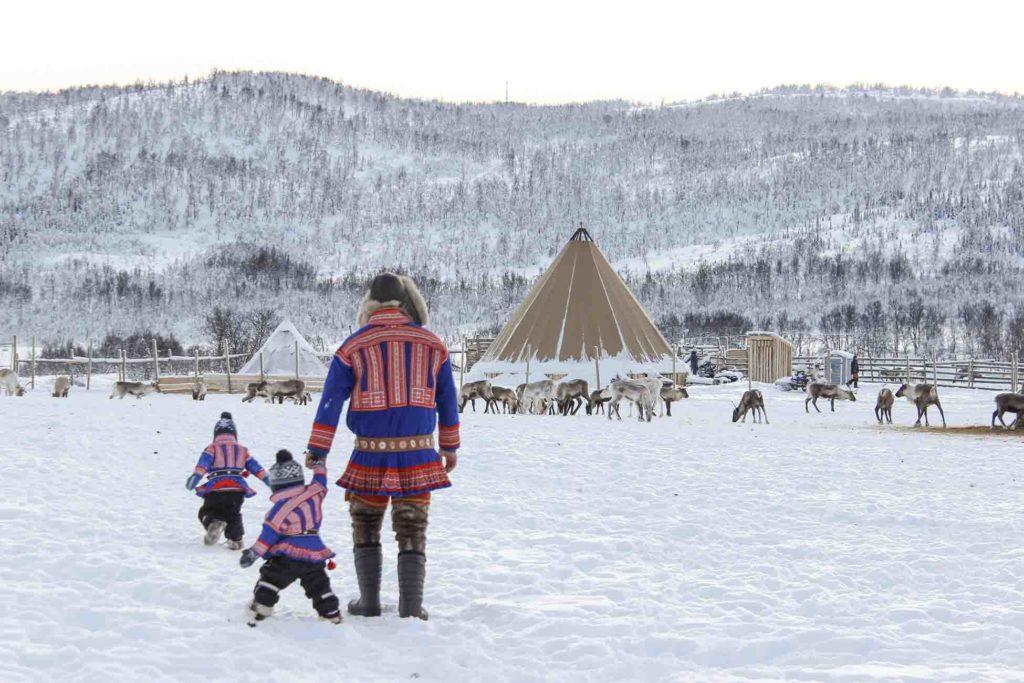 Rencontre avec les samis - croisière Laponie