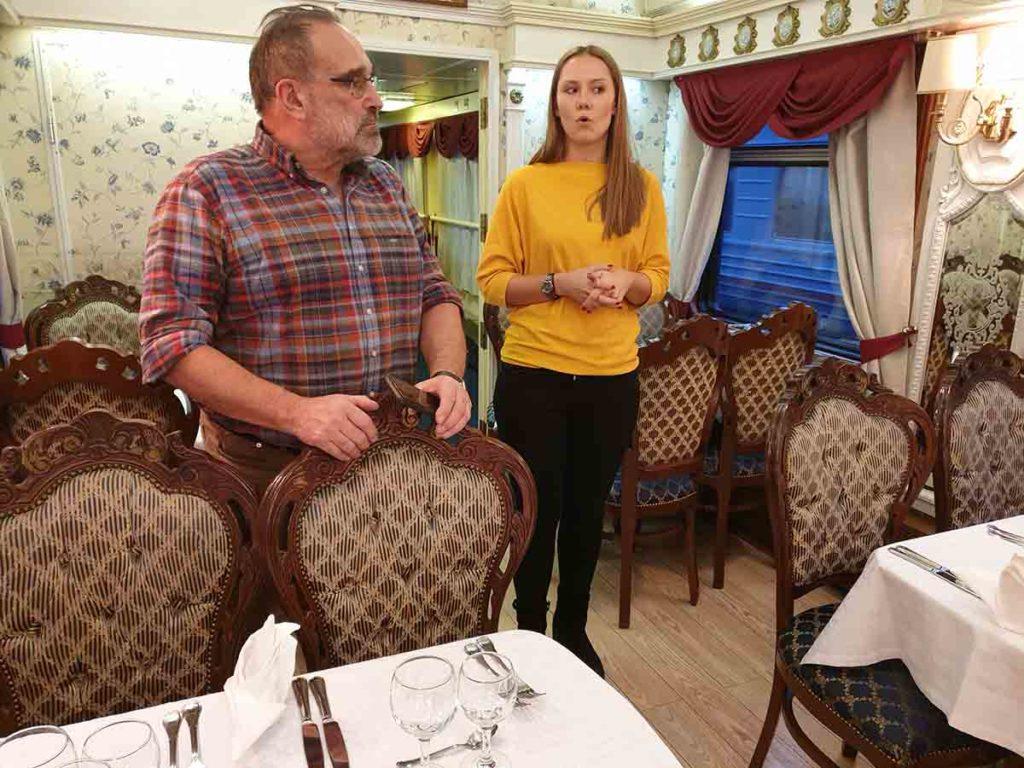 Visite du Transsibérien - Russie
