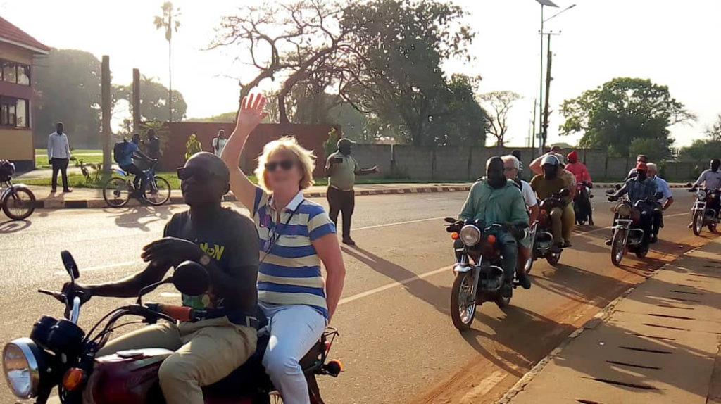 Balade Moto - Ouganda