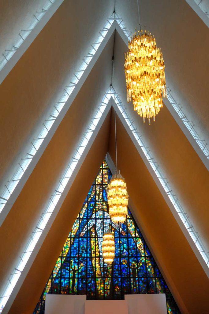 Cathédrale Tromso - Croisière Laponie