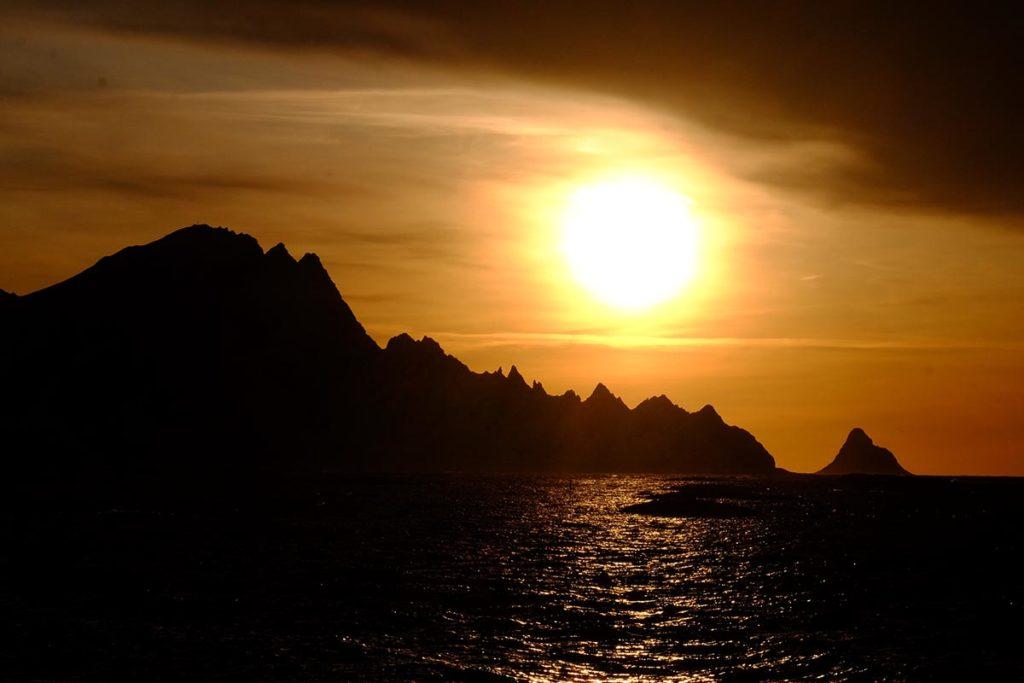 Coucher de soleil - Laponie