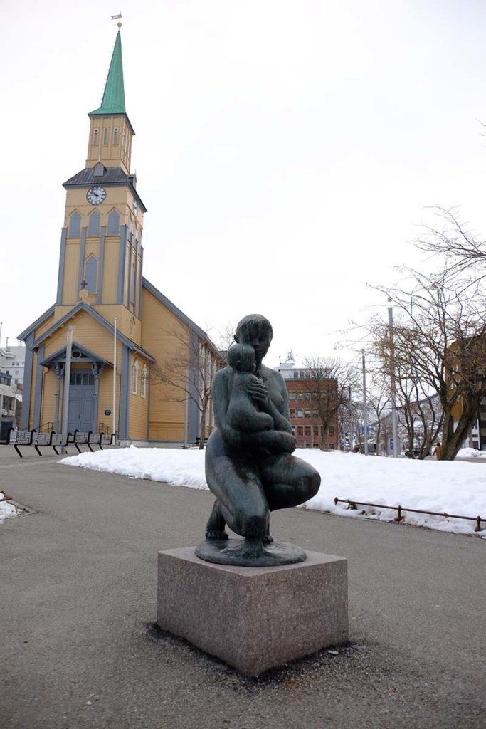 Eglise - Tromso - Croisiere en Laponie