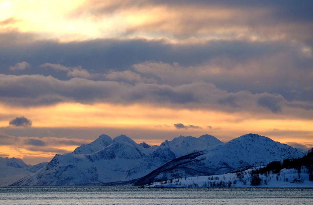 Fjord - Croisière en Laponie